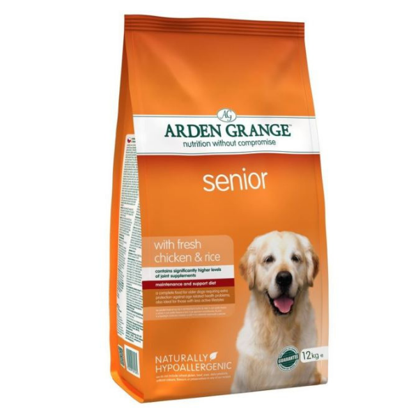 Arden Grange Senior with fresh Chicken & Rice 6 kg