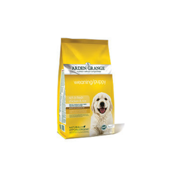 Arden Grange Weaning/Puppy rich in fresh Chicken & Rice 15 kg