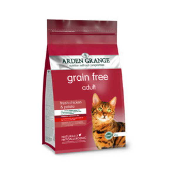 Arden Grange Adult Cat with fresh Chicken & Potato grain free 2 kg