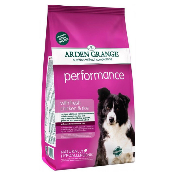 Arden Grange Performance with fresh Chicken & Rice 12 kg