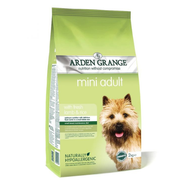 Arden Grange Mini Adult rich in fresh Lamb & Rice 2 kg