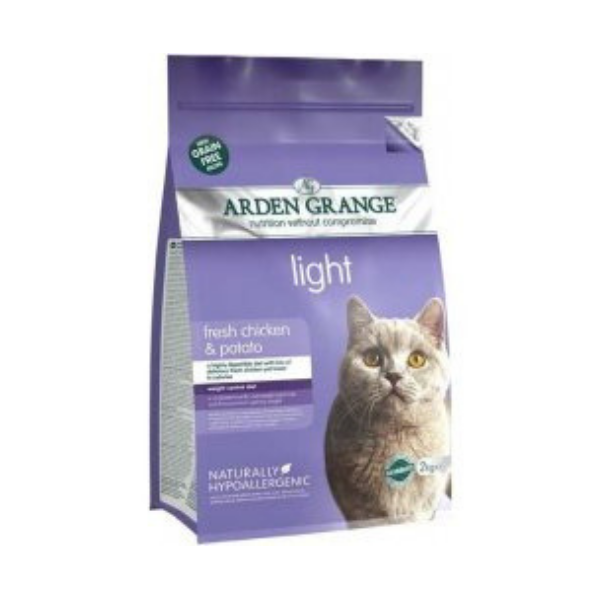Arden Grange Adult Cat Light with Chicken & Potato grain free 2 kg