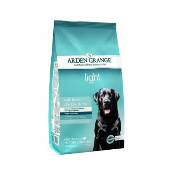 Arden Grange Light with fresh Chicken & Rice 12 kg