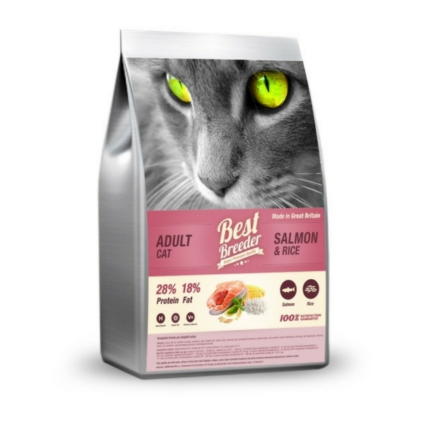 Best Breeder Adult Cat Salmon 2 kg
