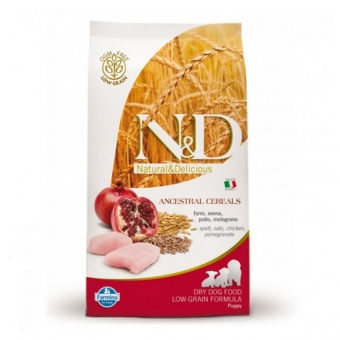 ND Low Grain DOG Puppy Maxi Chicken and Pomegranate