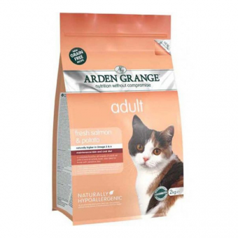 Arden Grange Cat adult - salmon grain free
