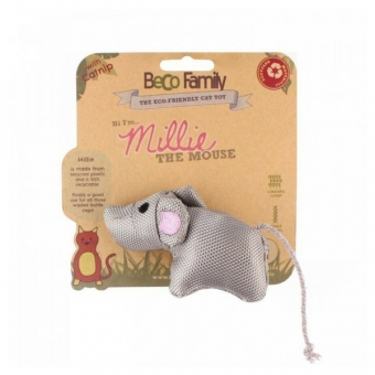 beco-things-beco-cat-nip-toy---myska-millie-.BeCo Things BECO CAT NIP TOY - MYŠKA