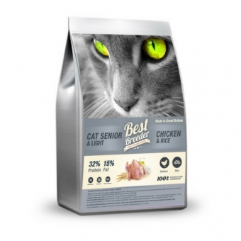 Best Breeder Senior Cat Light Chicken 300 g