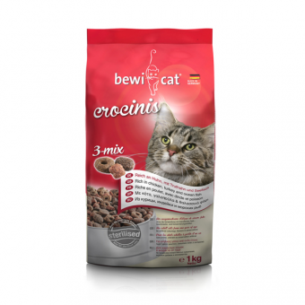 Bewi Cat Crocinis 3-mix