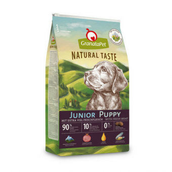 Granatapet Natural Taste Junior/puppy
