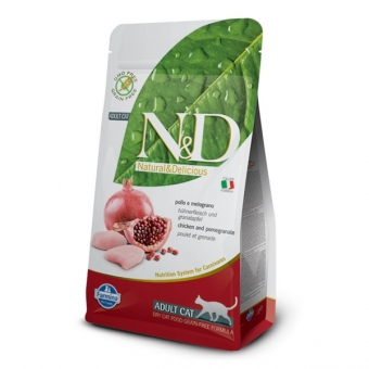 ND Grain-Free CAT Adult Chicken and Pomegranate