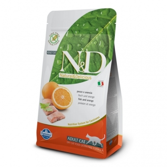 ND Grain-Free CAT Adult Fish and Orange