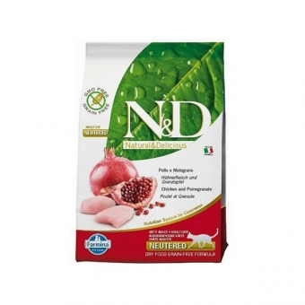 ND Grain-Free CAT Neutered Chicken and Pomegranate