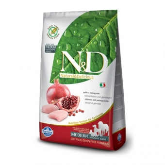 ND Grain-Free DOG Adult Chicken and Pomegranate
