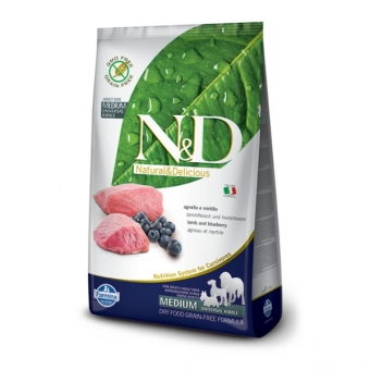 ND Grain-Free DOG Adult Lamb and Blueberry