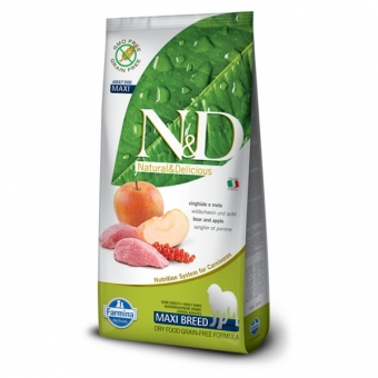 ND Grain-Free DOG Adult Maxi Boar and Apple