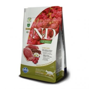 ND Grain Free Quinoa CAT Urinary Duck and Cranberry