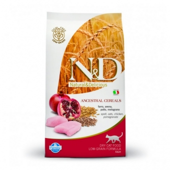 ND Low Grain CAT Adult Chicken and Pomegranate