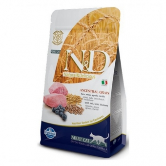 ND Low Grain CAT Adult Lamb and Blueberry