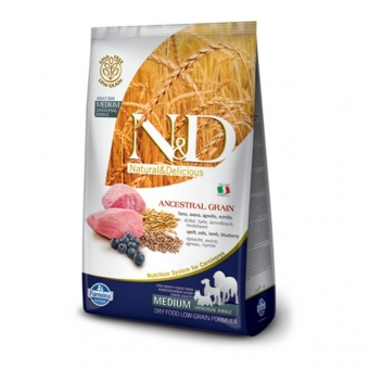 ND Low Grain DOG Adult Lamb and Blueberry