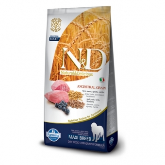 ND Low Grain DOG Adult Maxi Lamb and Blueberry