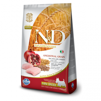 ND Low Grain DOG Adult Mini Chicken and Pomegranate
