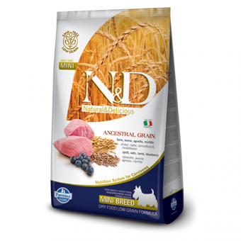ND Low Grain DOG Adult Mini Lamb and Blueberry