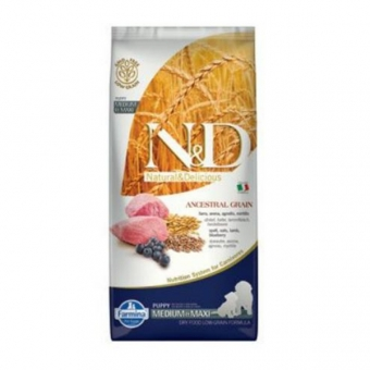 ND Low Grain DOG Puppy M-L Lamb and Blueberry