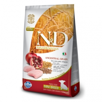 ND Low Grain DOG Puppy Mini Chicken and Pomegranate