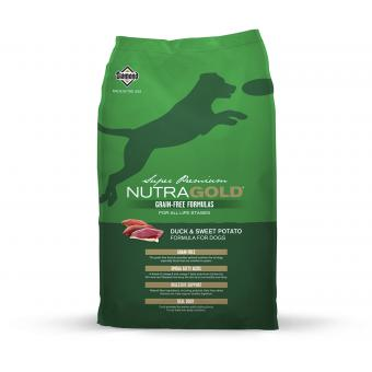 nutra-gold-ng-duck&sweet-potato-grain-free-13,6kg-13.60.Nutra Gold Duck and Sweet Potato GRAIN FREE 13,6 kg