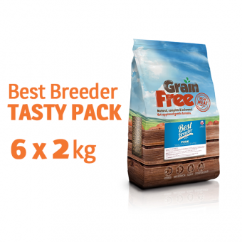 Best Breeder Grain Free TASTY PACK